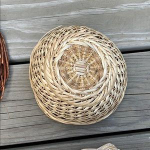Vintage Wall Art - FINAL PRICE❤️Boho Wicker Basket Wall Decor 🌹